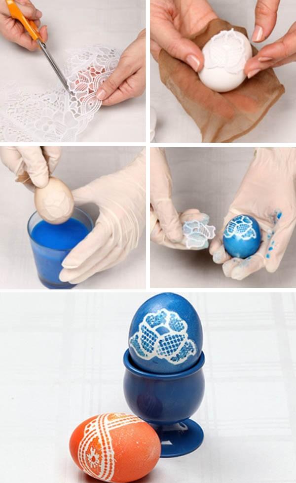Пасхальные яйца покраска своими руками 94